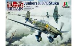 Ju 87B-1/B-2/R-2 Junkers, Stuka - ITALERI 2807 1/48