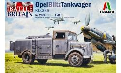 Opel Blitz S 3t 3,6-36, Kfz. 385 Flugbetriebsstoffkesselkraftwagen - ITALERI 2808 1/48