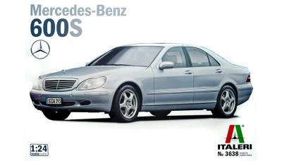 Mercedes-Benz S 600 L (W220) 1999 - ITALERI 3638 1/24