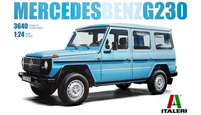 Mercedes-Benz G230G (W460) 1979 - ITALERI 3640 1/24