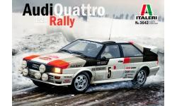 Audi Quattro (85/B2) 1981 - ITALERI 3642 1/24