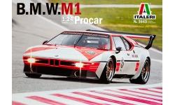 BMW M1 E26 1979 - ITALERI 3643 1/24