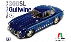 Mercedes-Benz 300 SL Coupe 1954, Gullwing (W198) - ITALERI 3645 1/24