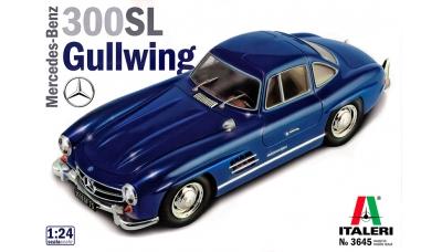 Mercedes-Benz 300 SL Coupe 1954, Gullwing (W198) - ITALERI 3645 1/24