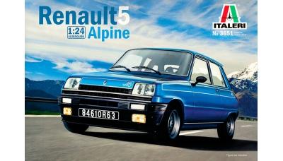Renault 5 Alpine 1976 - ITALERI 3651 1/24
