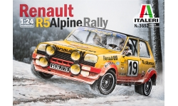 Renault 5 Alpine 1978 - ITALERI 3652 1/24