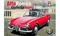 Alfa Romeo Giulietta Spider (101.03) 1960 - ITALERI 3653 1/24