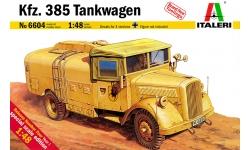 Opel Blitz S 3t 3,6-36, Kfz. 385 Flugbetriebsstoffkesselkraftwagen - ITALERI 6604 1/48