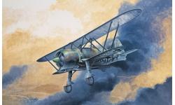 CR.42LW FIAT, Falco - ITALERI 1276 1/72