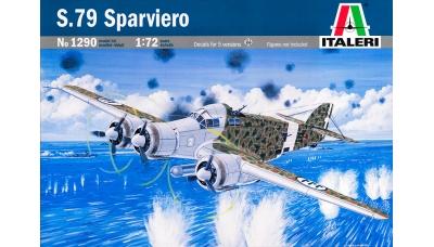 S.M.79-II Savoia-Marchetti, Sparviero - ITALERI 1290 1/72