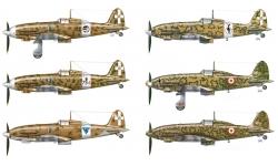 C.202 Folgore & C.205V Veltro Aeronautica Macchi - ITALERI 1345 1/72