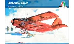 Ан-2 Антонов - ITALERI 1367 1/72