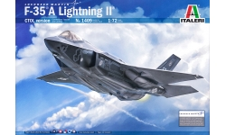 F-35A Lockheed Martin, Lightning II - ITALERI 1409 1/72