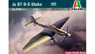 Ju 87D-5 Junkers, Stuka - ITALERI 2709 1/48