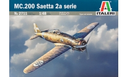 C.200 2A Aeronautica Macchi, Saetta - ITALERI 2711 1/48