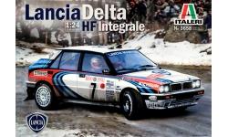 Lancia Delta HF Integrale 16V 1990 - ITALERI 3658 1/24