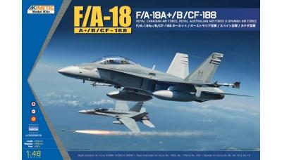 F/A-18A/A+/CF-188A/B/EF-18A McDonnell Douglas, Hornet - KINETIC K48030 1/48