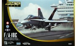 F/A-18C McDonnell Douglas, Hornet - KINETIC K48031 1/48