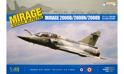Mirage 2000B/BG/D/N Dassault - KINETIC K48032 1/48