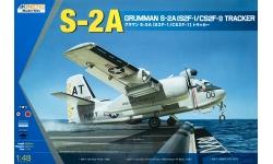 S-2A (S2F-1) / CP-121 (CS2F-1) Grumman, DHC, Tracker, Aotaka - KINETIC K48039 1/48