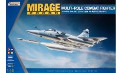 Mirage 2000C/EGM/2000-5EDA/2000-5F/2000-5F Mk.2/2000-9 Dassault - KINETIC K48042 1/48