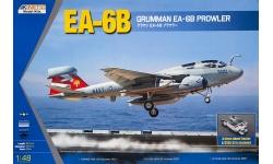EA-6B Grumman, Prowler & A/S32A-32, SD-2 - KINETIC K48044 1/48