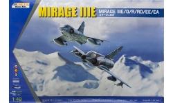 Mirage IIIE Dassault - KINETIC K48050 1/48