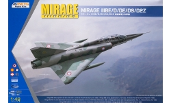 Mirage IIIBE/D/DE/DS/IIID2Z Dassault - KINETIC K48054 1/48