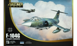 F-104G Lockheed, Starfighter - KINETIC K48083 1/48