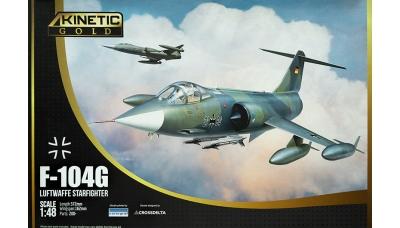 F-104G Lockheed, Starfighter - KINETIC K48083 1/48