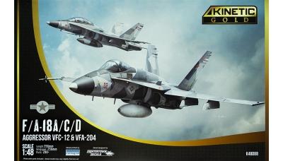 F/A-18A/C/D McDonnell Douglas, Hornet - KINETIC K48088 1/48