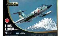 F-104DJ/J Lockheed, Mitsubishi, Starfighter - KINETIC K48092 1/48