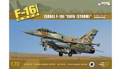 F-16I General Dynamics, Sufa - KINETIC K72001 1/72