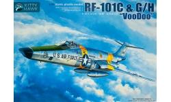 RF-101C/G/H McDonnell, Voodoo - KITTY HAWK KH80116 1/48