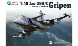 JAS 39C SAAB, Gripen - KITTY HAWK KH80117 1/48