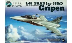 JAS 39D SAAB, Gripen - KITTY HAWK KH80118 1/48