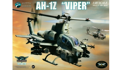 AH-1Z Bell, Viper, Zulu Cobra - KITTY HAWK KH80125 Version 2.0 1/48