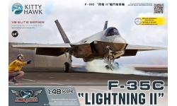 F-35C Lockheed Martin, Lightning II - KITTY HAWK KH80132 1/48