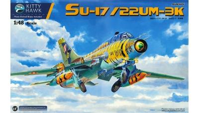 Су-17УМ3/22УМ3К Сухой - KITTY HAWK KH80147 1/48