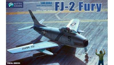 FJ-2 North American, Fury - KITTY HAWK KH80155 1/48