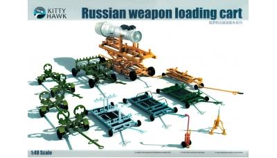 Тележки аэродромные сервисные и для транспортировки АСП ВКС России - KITTY HAWK KH80161 1/48