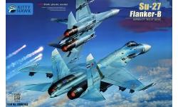 Су-27СМ Сухой - KITTY HAWK KH80163 1/48