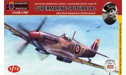Spitfire Mk IXc Supermarine - KOVOZAVODY PROSTEJOV (KP) CLK0004 1/72