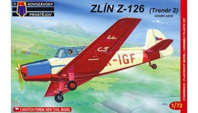 Z-126 Moravan, n.p., Zlin Trenér 2 - KOVOZAVODY PROSTEJOV (KP) KPM0020 1/72