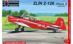 Z-126 Moravan, n.p., Zlin Trenér 2 - KOVOZAVODY PROSTEJOV (KP) KPM0023 1/72