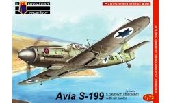 S-199 Avia - KOVOZAVODY PROSTEJOV (KP) KPM0049 1/72