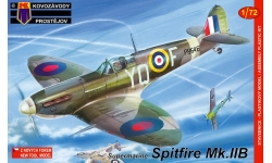 Spitfire Mk IIb Supermarine - KOVOZAVODY PROSTEJOV (KP) KPM0056 1/72