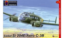 Si 204E-0 / C-3B, Siebel, Aero - KOVOZAVODY PROSTEJOV (KP) KPM0059 1/72