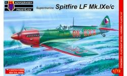 Spitfire LF Mk IXc/IXe Supermarine - KOVOZAVODY PROSTEJOV (KP) KPM0067 1/72