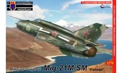 МиГ-21М/СМ - KOVOZAVODY PROSTEJOV (KP) KPM0098 1/72